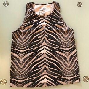 Play Cloths Zebra Tank